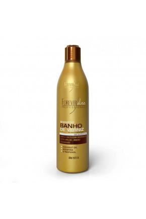shampoo banho de verniz extra brilho forever liss 500ml site