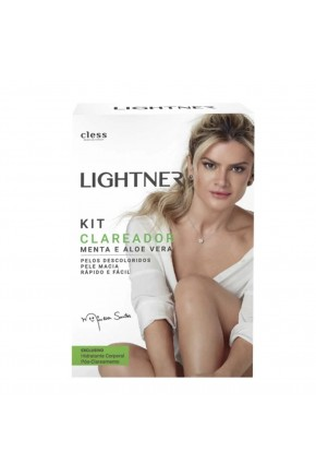 kit clareador cless lightner menta e aloe vera site