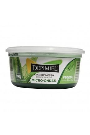cera depilatoria para micro ondas vegetal 200g depimiel