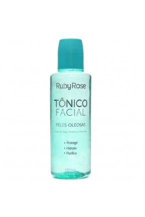 tonico facial ruby rose peles oleosas 150ml
