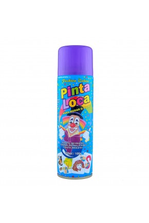 tinta spray pinta loca decorativa roxo 150ml fashion color roxo