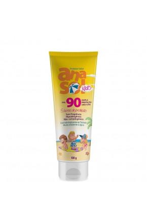 anasol protetor solar kids fps 90 100 g mockup