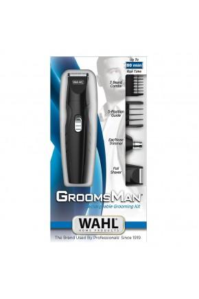 site groomsman rechargeable grooming kit box