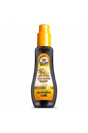 australian gold spray gel accelerator dark tanning 125g