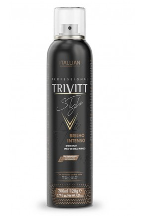 trivitt style spray de brilho intenso itallian hairtech 200ml