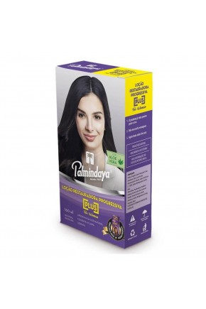 palmindaya plus locao progressiva feminina 160ml 1504714371