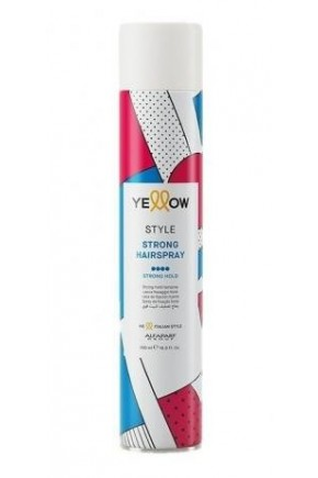 yellow extra strong hairspray