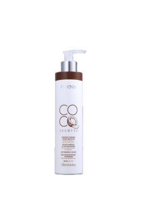 shampoo de coco frente