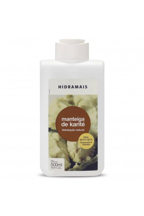 hidratante corporal hidramais manteiga de karite 500ml 009