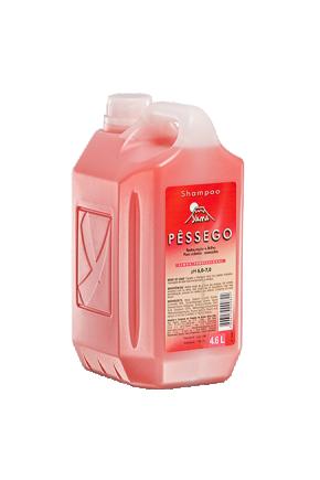 shampoo pessego 4 6l